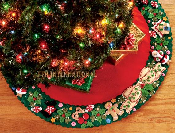 Bucilla Mary S Wreath 42 Felt Christmas Tree By