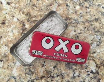 Vintage OXO tin box