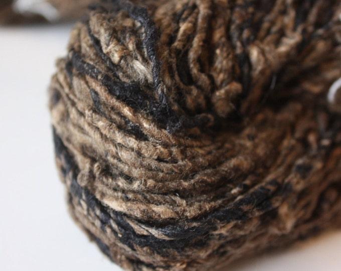 NEW** Tussar & Mulberry Handspun Silk Yarn