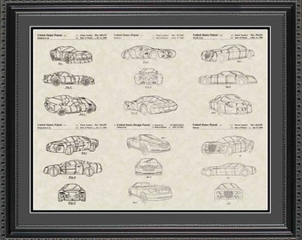 Chrysler Patent Collection Print Gift PCHRY2024