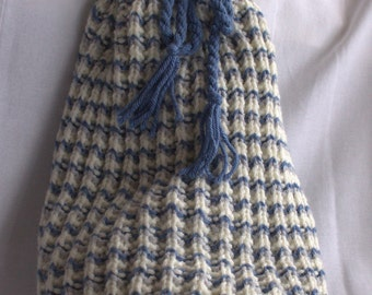 Knitted Duffle Bag