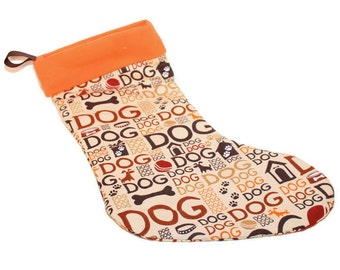 """Shop """"dog stocking christmas"""" in Home Décor"""
