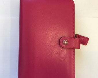 Webster's Pages Dark Pink Color Crush Personal Planner Binder ONLY - IN STOCK!!!