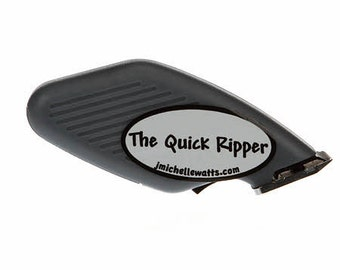 Quick Seam Ripper - J Michelle Watts Designs - Battery Powered - Gray