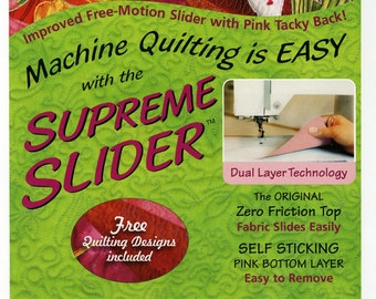 Supreme Slider Free Motion Machine Quilting Teflon Pad by LaPierre Studio # SS7