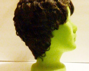 Pixie Hairstyle Synthetic Hair Wig by Zury Vintage Beauty Products