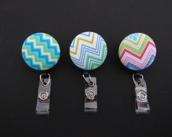 Chevron Badge holders to attach to nametag or ID.