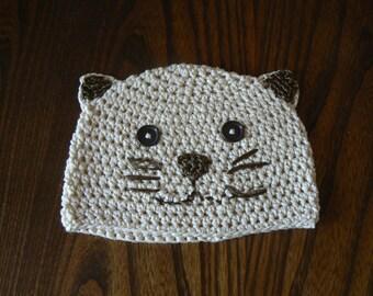 cotton cap cat