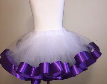 Girls ribbon tutu