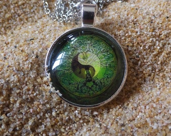 Retro Yin Yang Necklace