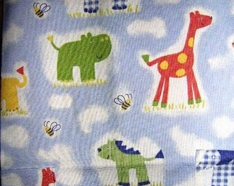 Child Aprons Giraffe Hippo Elephant
