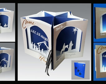 The Nativity Story Carousel Card template