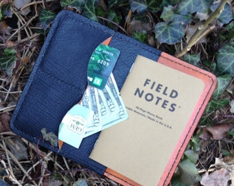 Filed Notes Cover with Cash, Credit Card, Business Card, etc pockets