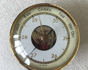 Clearance sale West Germany Weather Gauge