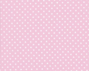Tanya Whelan Delilah Dots in Pink, 1 Yard Of Fabric More Available