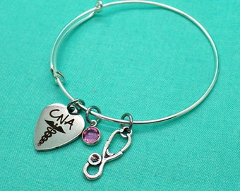 Nurse Assistant, CNA Gift, Certified Nursing Assistant Jewelry, CNA Jewelry, Gift for CNA, Graduation Gift for Certified Nursing Assistant