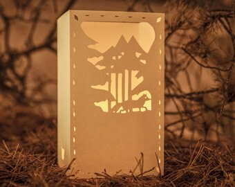 Paper lantern |  WALKING FOX