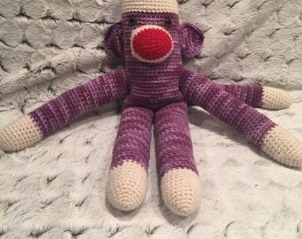 Amigurumi Sock Monkey