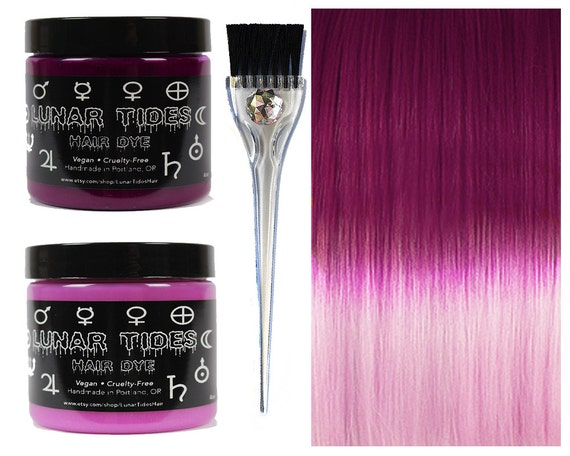 DIY Ombre Pink Hair Dye KIt by LunarTidesHair on Etsy