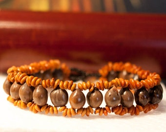 Handmade Bracelet from Natural Seeds
