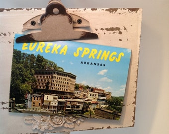 Vintage Postcard set Eureka Springs ten images