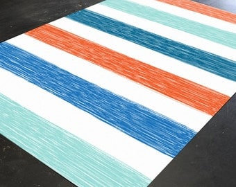 Accent Rugs, Girl Nursery Rug, Colorful Rug, Rug, Shabby Chic Rug, Nursery Rug, Vintage Rug, Floor Rug, Area Rug, Girls Rugs, Bedroom Rugs