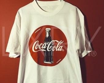 Vintage Coca-Cola tee Sz. L