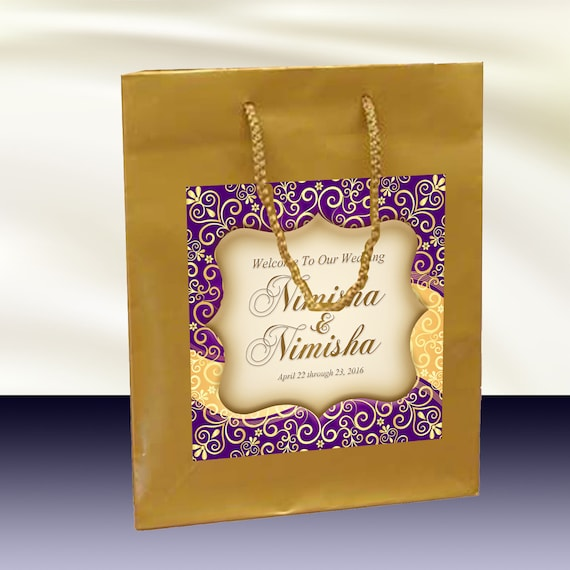 Indian Wedding Gift Bags For Guests : ... wedding welcome bag, hotel guests hospitality gift bag, wedding favor