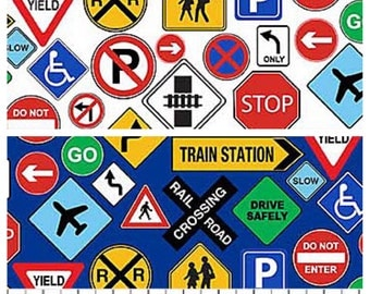 Road Signs - Trains/Planes/Cars/Boats