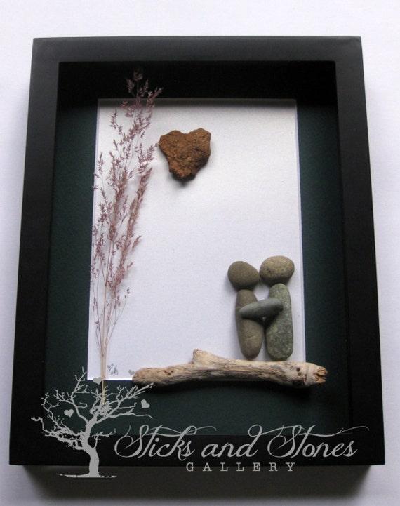 Unique Wedding Gifts Vancouver : Unique Engagement Gift, Wedding Gift, West Coast Pebble Art ...