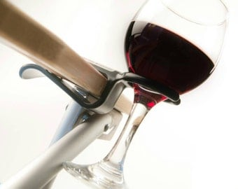 Four Wine Hooks w/ free shipping...Wine glass holder attaches to an outdoor chair. Use on most Patio, Beach, Adirondack and Camp/Bag chairs.