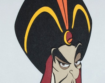 Jafar Close Up Die Cut - Disney's Aladdin - Disney's Villains