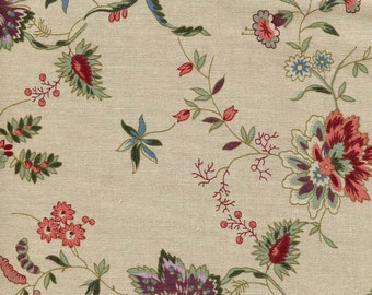 Mary's Secret Garden Ecru 2032 - 1/2yd