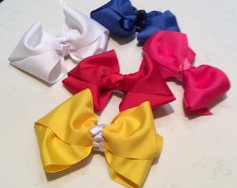 Boutique bows 4 inch
