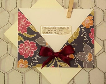 Elegant Anniversary Blank Card Set
