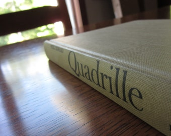 Quadrille, Noel Coward, 1955 First Edition, Romantic Comedy, Plays Theater Drama, Vintage HC Book, British Authors, Playwrights, Literature