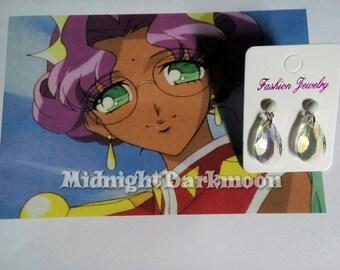Utena Revolutionary Girl inspired earrings Anthy
