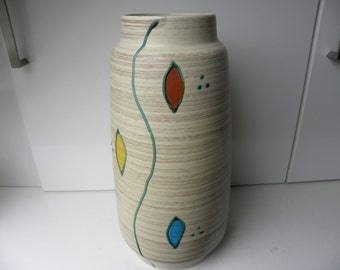 Bay mid century Floor vase 666-40