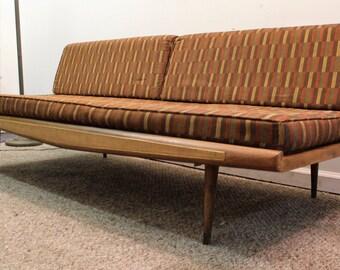 Mid Century Danish Modern Vintage Adrian Pearsall Sofa