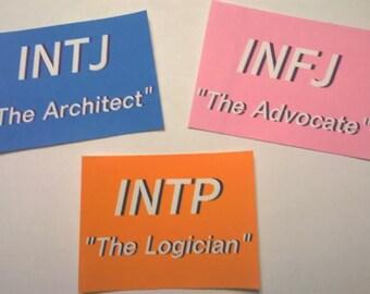 MBTI Roles Sticker