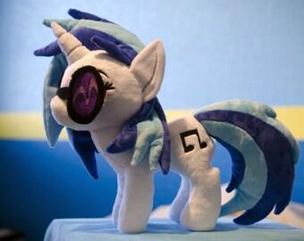 "My Little Pony ""DJ Pon-3"" Inspired Plush"