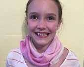 Pink Infinity Scarf  Girl...