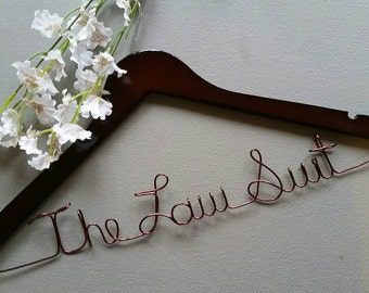 Lawyer Hanger, New Graduate or The Soon to Be Lawyer, Attorney Gift - Lawyer Gift - Legal Law Gift