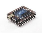 Arduino Uno Walnut Zebra Case by C4 Labs