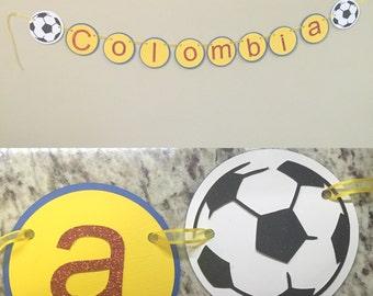 Soccer Themed Banner