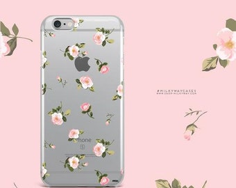 Clear TPU Case Cover for Apple iPhone - Blush