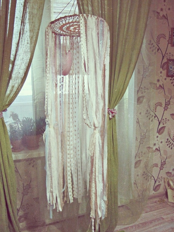 Bohemian ... & 7% OFF coupon on Bohemian Baby Crib Canopy - Lace Canopy ...