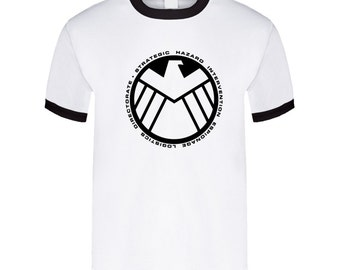 Agents Of S.h.i.e.l.d - Avengers - White T Shirt