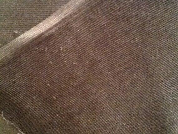 Corduroy Black 21 Wale 100% Cotton Corduroy Fabric