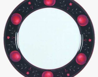 """Victoria & Beale Passion Fine Translucent Porcelain Dinner Plate 10 3/4"""" Made in INDONESIA"""